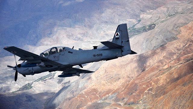 Самолет ВВС США A-29 Super Tucano. Архивное фото