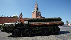 Зенитные ракетные системы большой и средней дальности С-400 на Красной площади