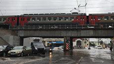 Подтопленная Москва