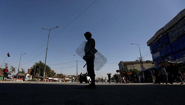 В Кабуле во время демонстрации произошел взрыв (18+)