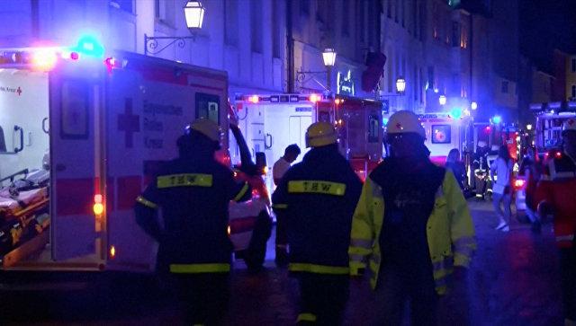 Подозреваемый вовзрыве в германском Ансбахе присягнулИГ