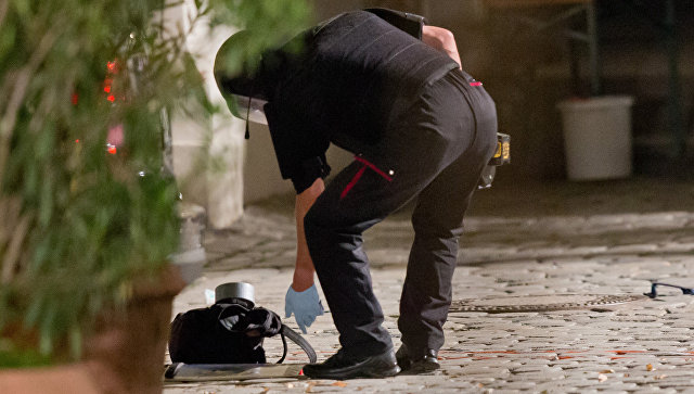 Втелефоне взорвавшего себя вАнсбахе беженца отыскали запись сприсягой ИГИЛ
