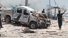 Взрыв в столице Сомали — Могадишо. 26 июля 2016
