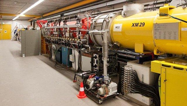 Инжектор электронов в ускорителе лазера XFEL