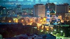 Соборная площадь в Омске. Архивное фото