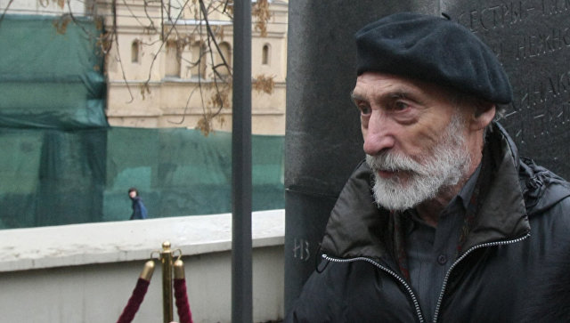 Скульптор Дмитрий Шаховской