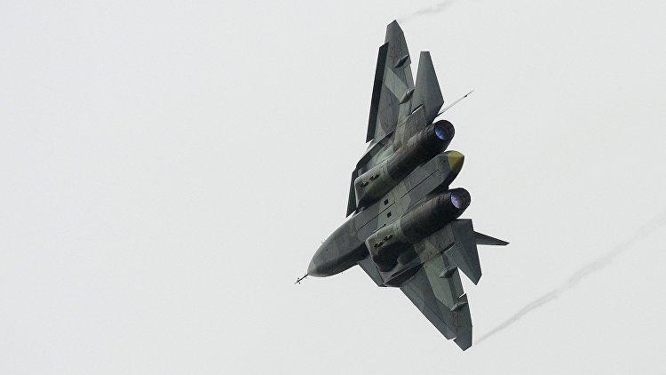 ОДК поведала, когда состоится 1-ый полет истребителя 5-ого поколения Т-50