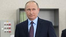 Президент РФ Владимир Путин . Архивное фото