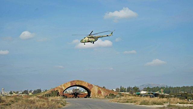 Вертолет сирийских ВВС. Архивное фото