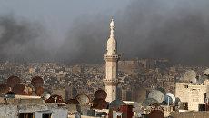 Сирийский город Алеппо. Архивнео фото