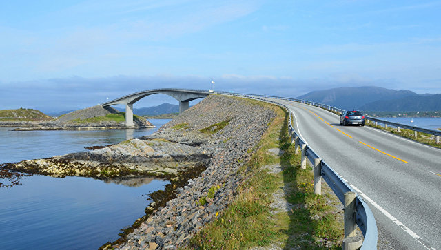 Дорога Норвегия. Архивное