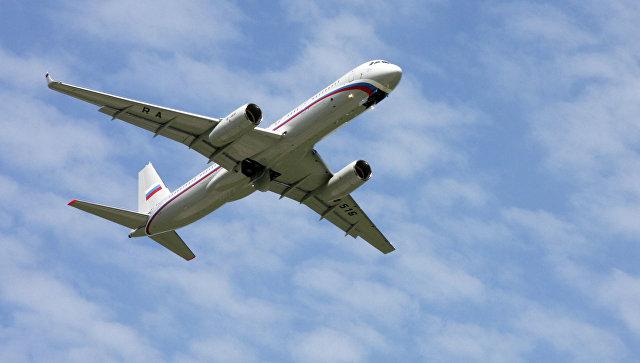Самолет Ту-214. Архивное фото