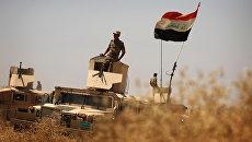 Иракские военные на подступах к Мосулу. Архивное фото