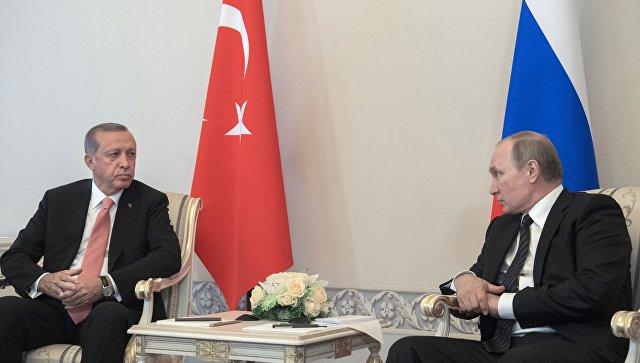 Встреча В. Путина иЭрдогана реанимирует чахлые экономические отношения Российской Федерации иТурции