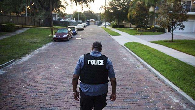 Офицер полиции в США. Архивное фото
