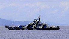 Индонезийский корабль. Архивное фото