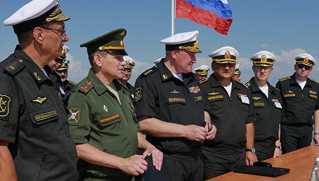 Черноморский флот проводит учения позащите Крыма отдиверсантов