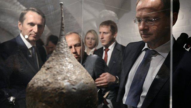 ВЗвенигородский музей передали редкие военные находки эпохи Ивана Грозного
