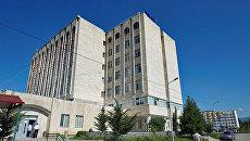 Выборы в Грузии, здание ЦИК. Архивное фото