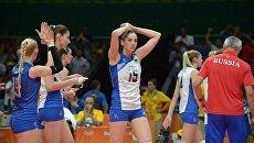 Олимпиада 2016. Волейбол. Женщины. Матч Россия - Сербия