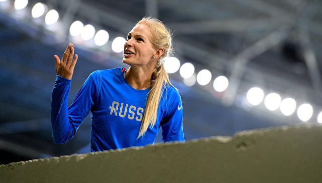 Дарья Клишина вышла вфинал олимпийского турнира попрыжкам вдлину