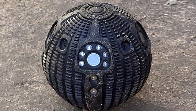 Досмотровое устройство Сфера для оперативного сбора видео, аудиоинформации в труднодоступных и опасных для человека зонах
