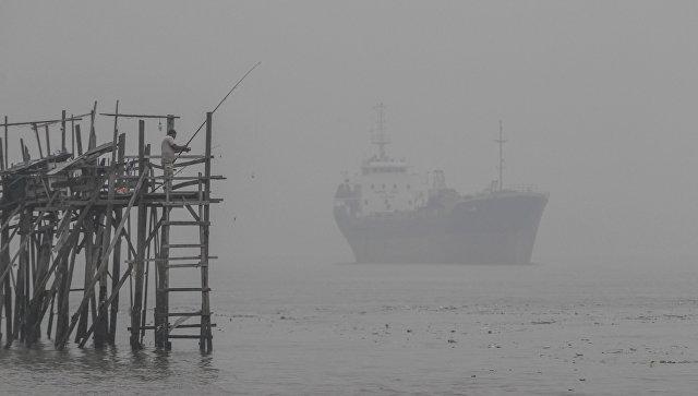 Танкер у берегов Малайзии. Архивное фото