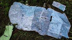 Поисковые работы на месте крушения малайзийского лайнера Boeing 777 в районе Шахтерска
