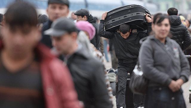 В российской столице проживает неменее 1 млн. мигрантов— МВД