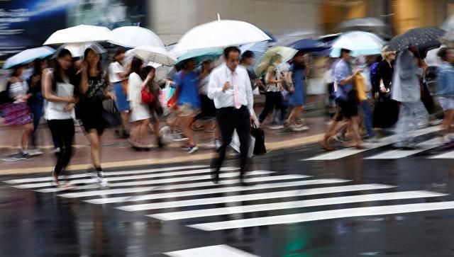 ВЯпонии бушует тайфун: есть жертвы, десятки ранены