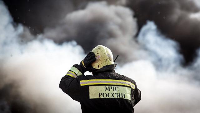 Пожар наскладе в новейшей столице ликвидирован