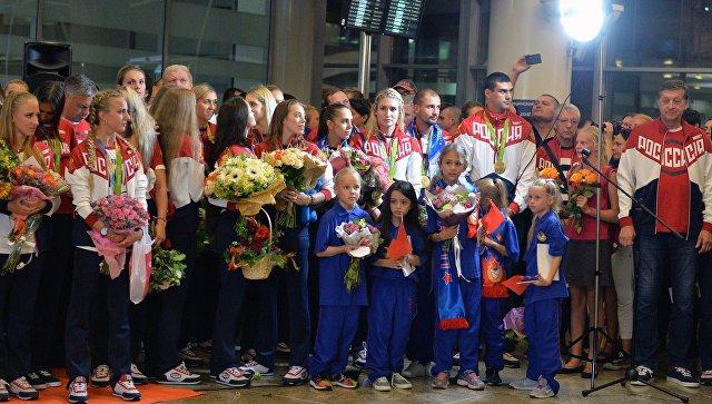 """Собянин поздравил столичных спортсменов свыдающимися результатами выступлений вРио"""""""