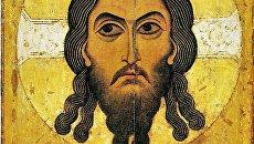 Спас Нерукотворный (новгородская икона XII века) (ГТГ)