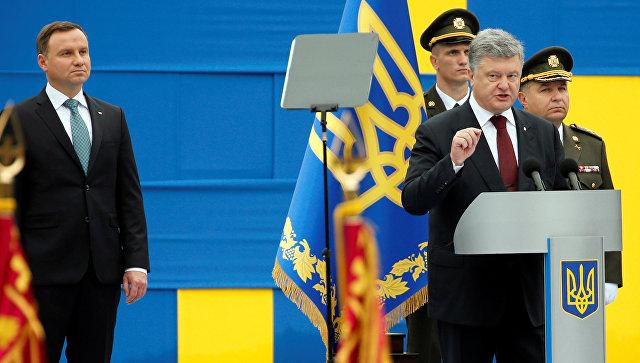 Порошенко заявил, что пожалуется наРоссию втрибунал ООН поморскому праву