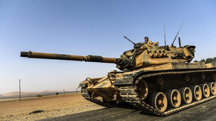 Министр обороны Турции назвал условия вывода войск из Сирии