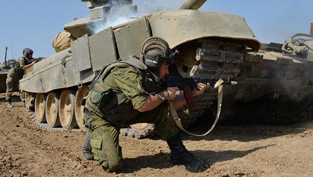 Десантники иморская пехота переброшены вКрым для проверки боеготовности