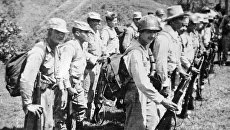 Подразделение маркетальских партизан. Колумбия