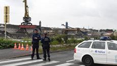 Сотрудники полиции Брюсселя. Архивное фото