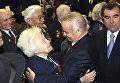 Президент Узбекистана Ислам Каримов во время встречи в Большом театре с ветеранами Великой Отечественной войны из России и стран Содружества