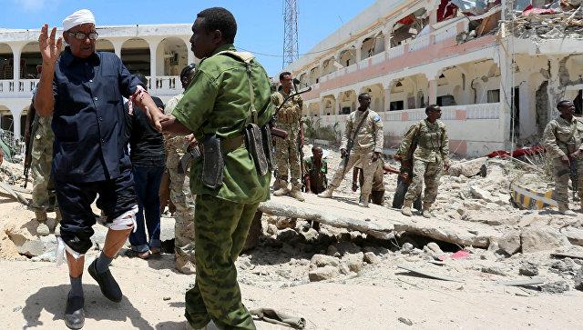У замка сомалийского президента взорвался заминированный автомобиль