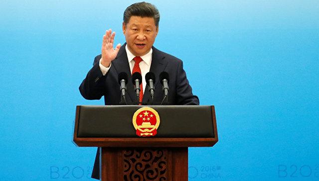 Председатель КНР Си Цзиньпин на G20. Архивное фото