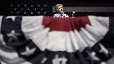 Кандидат в президенты США от Демократической партии Хиллари Клинтон в Кливленде, Огайо. 5 сентября 2016