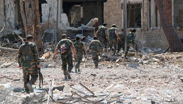 Бойцы сирийской армии, Архивное фото