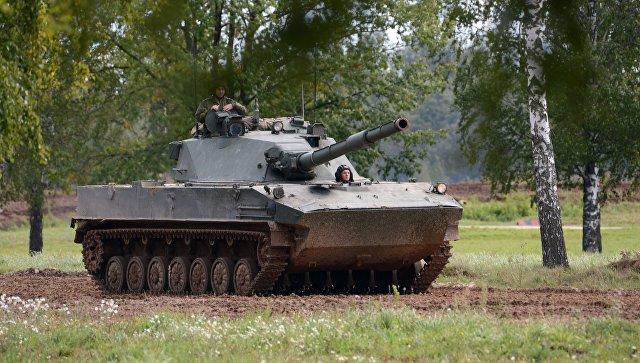 """Легкий плавающий танк """"Спрут-СДМ1"""" выйдет на мировой рынок"""
