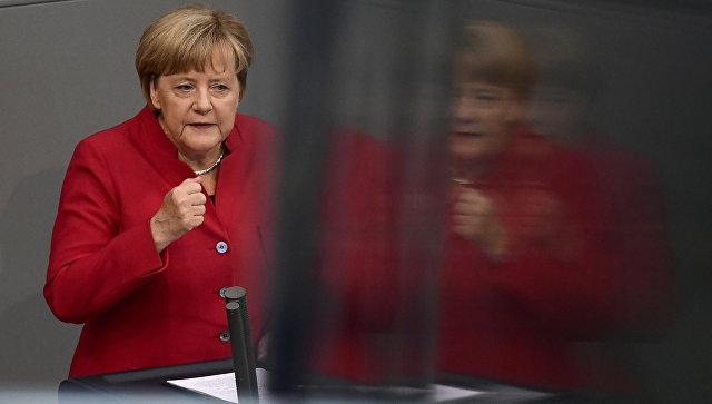 Меркель заявила о начале новой исторической эпохи в мире
