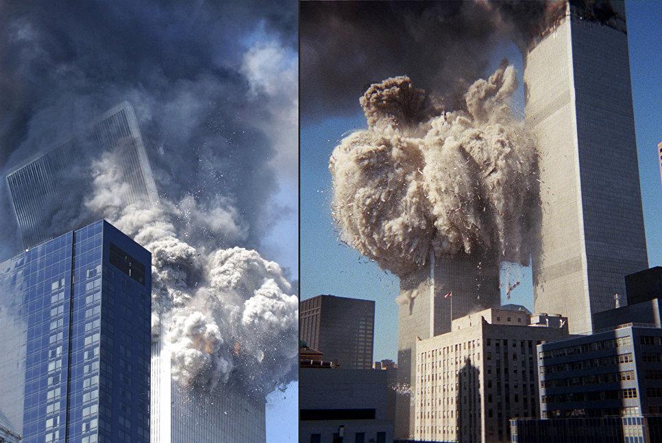 Во время теракта 11 сентября 2001 года в Нью-Йорке