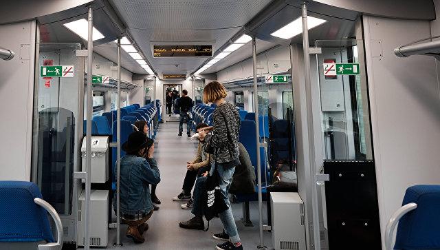 Человек попал под поезд наМЦК