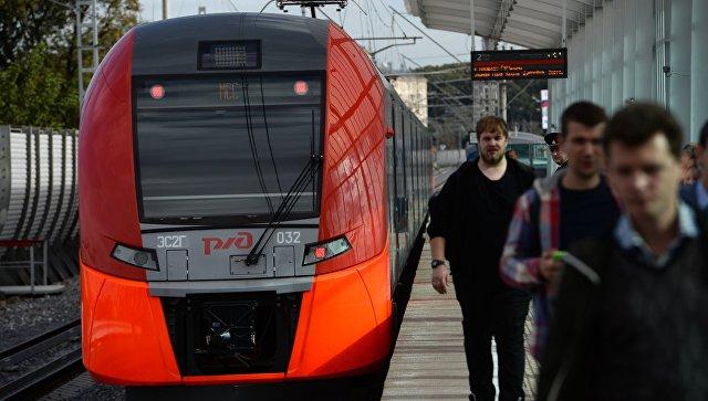Поезда МЦК следуют с увеличенными интервалами