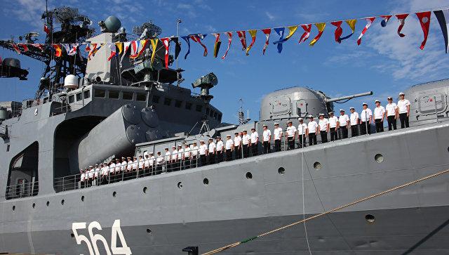 Флот РФ поддержал КНР вЮжно-Китайском море