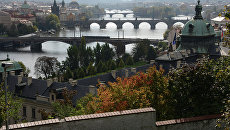 Вид на Прагу. Архивное фото